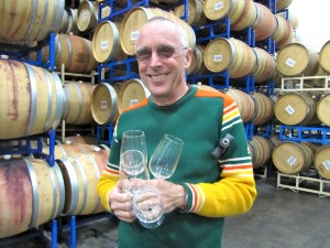 Winemaker Larry Books is Interviewed by Maralyn D. Hill and Michelle M. Winner