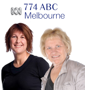 Lindy Burns on 774 ABC Melbourne Interviews Maralyn Hill for Foodie Tuesday