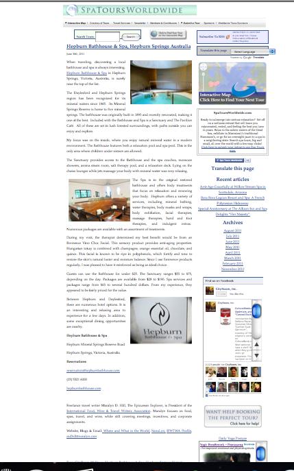CityRoom Hepburn Bath House & Spa, Hepburn Springs