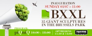 Brusselicious XXL All 35 Works in a Single, Unique Setting