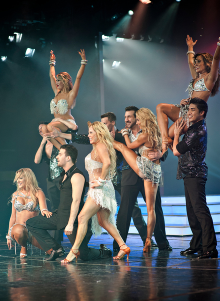 Dancing with the Stars Finale Courtesy of Holland America Line