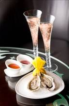 Veuve Clicquot Rosé and freshly shucked oysters at Portal – Work & Play