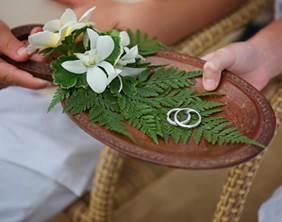 Wedding Rings Courtesy of LAUCALA ISLAND