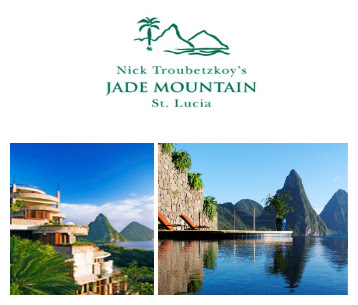 American Express Travel Selects Jade Mountain for Exclusive Top 25 LIst