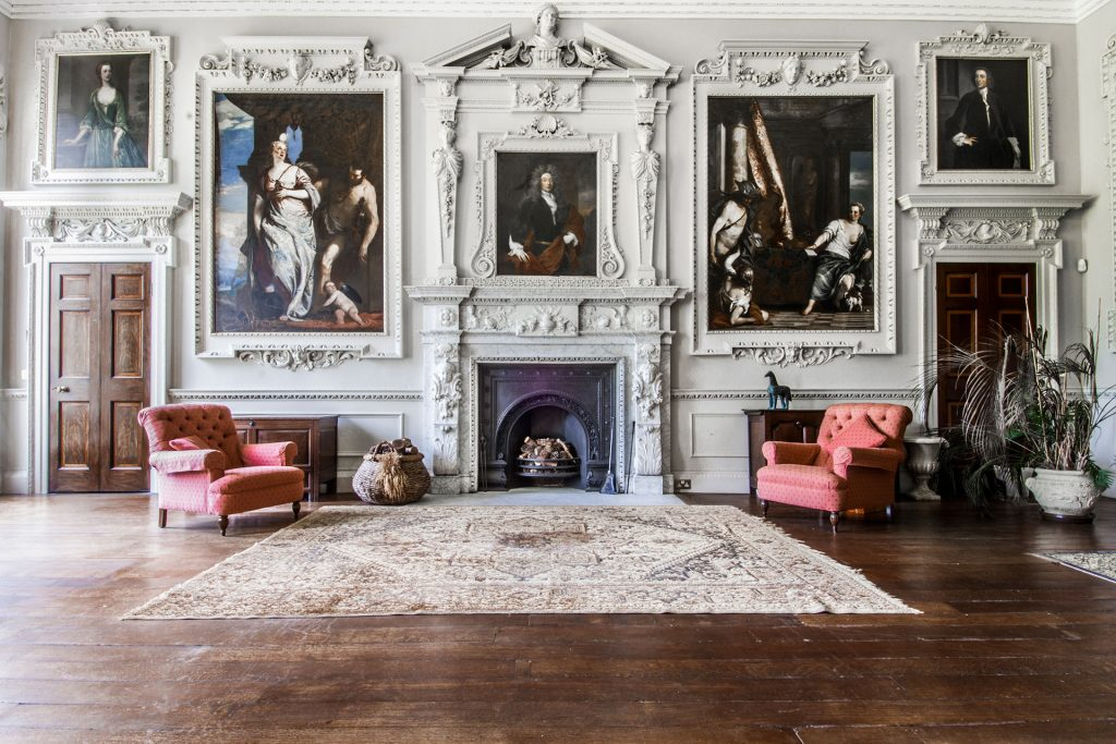 ONE OF UK'S MOST DESIRABLE 18TH CENTURY MANSIONS   ANNOUNCES FUTURE PLANS