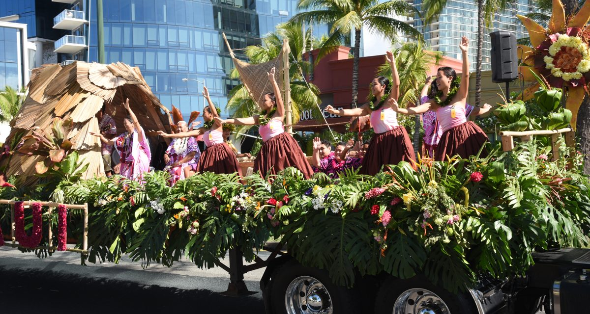 Aloha Festivals Announces Event Schedule