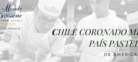 Chile crowned best pastry chef country in Latin America