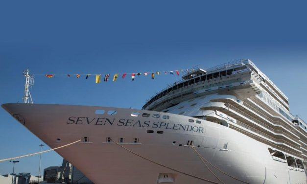 Regent Seven Seas Cruises® and Shipbuilder Fincantieri Float Out Seven Seas Splendor