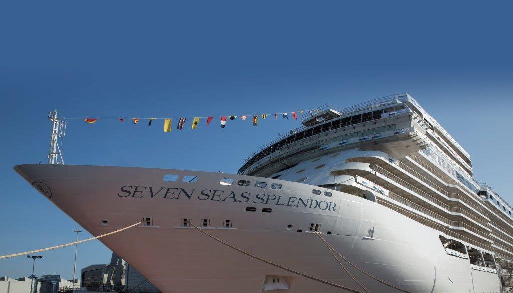 Regent Seven Seas Cruises® and Shipbuilder Fincantieri Float Out Seven Seas Splendor
