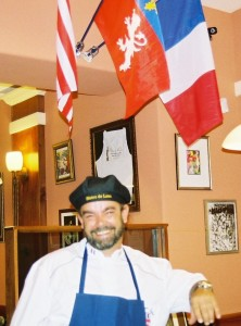 Chef Jean-Stephane Poinard