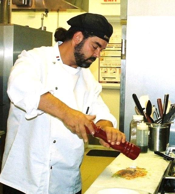 Chef Jean-Stephane Poinard