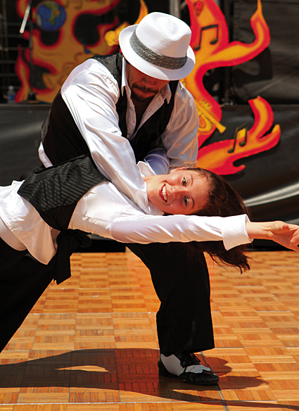 Dancers - The City of Oxnard is getting ready to spice things up during the 21st Annual Oxnard Salsa Festival