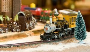 Train in Gingerbread Village Courtesy of Sheraton Phoenix Downtown Hotel