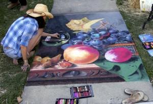 Napa's Riverfront Chalk Festival