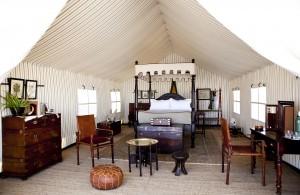 San Camp Room David Crookes, Courtesy of Uncharted Africa Safari co
